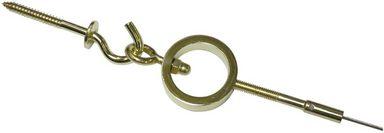 Seilspanngarnitur »Ring«, GARDINIA, Gardinen, Vorhänge, 1-läufig
