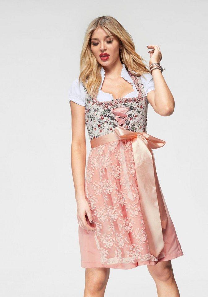 45eba827d62a86 HaILY'S Dirndl »LISA« mit Spitze online kaufen | OTTO