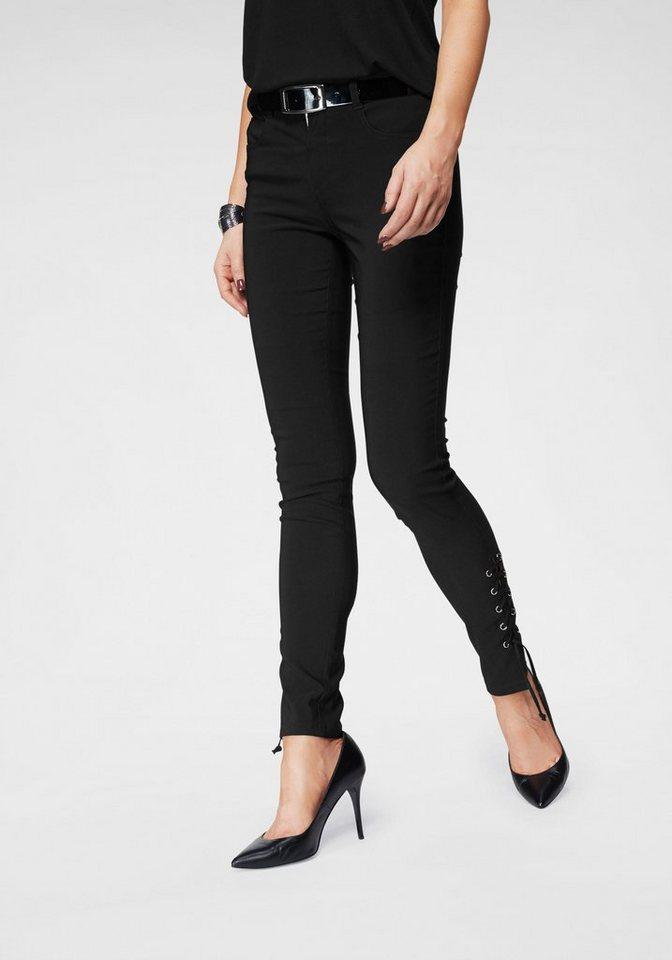 5c50f934526ae6 Melrose Stretch-Hose mit Schnürung am Bein kaufen | OTTO