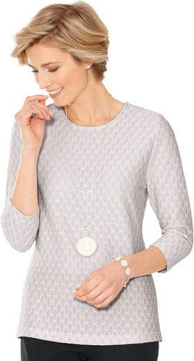 Classic Shirt im dezent gemusterten Jacquard-Dessin