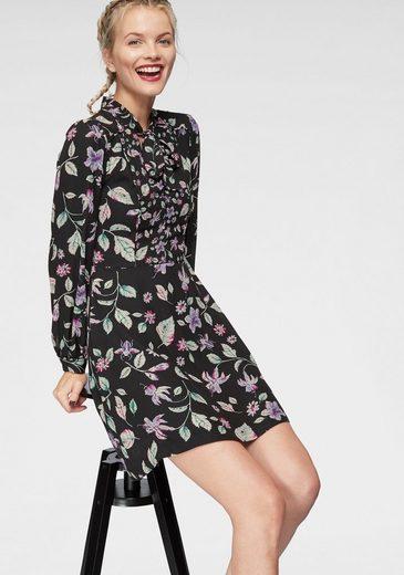 Pepe Jeans Druckkleid »CINDA« mit Schluppendetail und Blumenprint