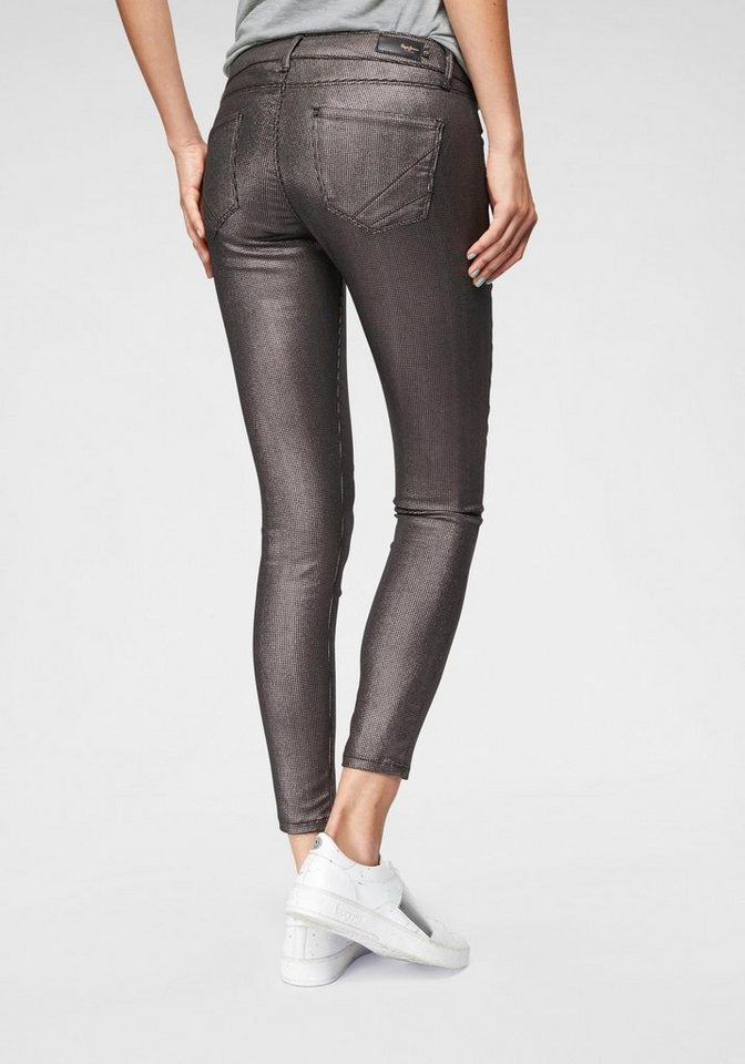 Pepe Jeans Skinny-fit-Jeans »LOLA LUX« mit Metallic-Beschichtung ... 17f0c2b077