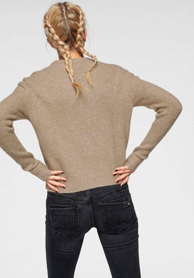 fa3a622d987a98 Damen Pepe Jeans Strickpullover LALI mit Insekten-Applikation