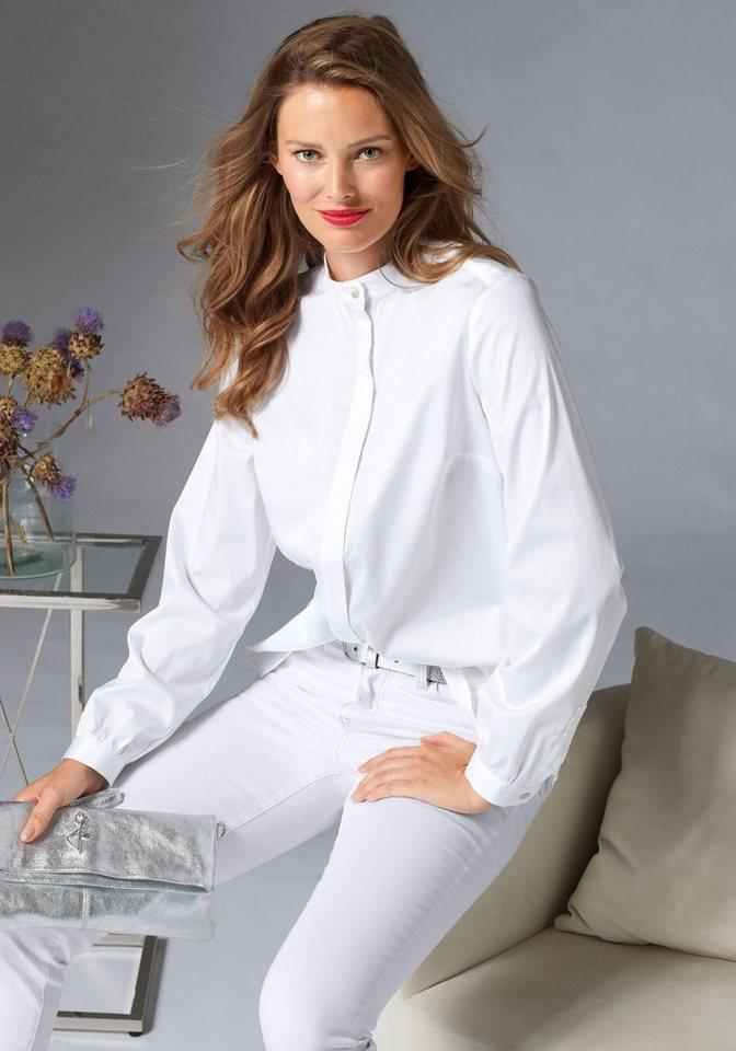 guido maria kretschmer klassische bluse mit stehkragen und verdeckter knopfleiste online kaufen. Black Bedroom Furniture Sets. Home Design Ideas