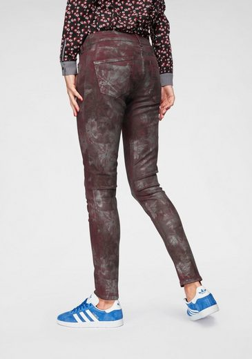Pepe Jeans Skinny-fit-Jeans »PIXIE SILVER MOON« mit Metallic-Beschichtung