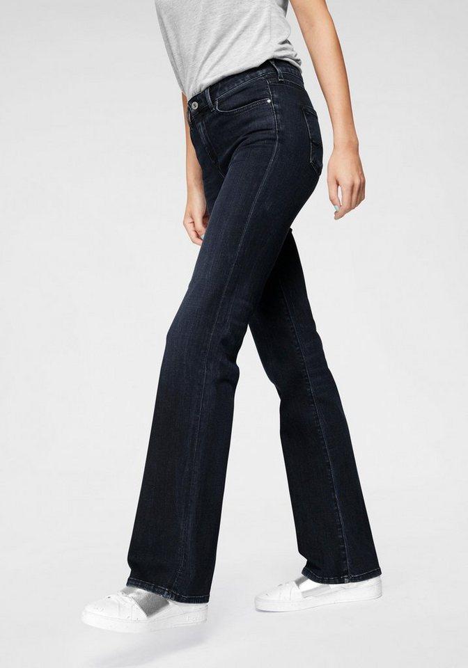 Damen Pepe Jeans Schlagjeans AUBREY mit Stretch-Anteil blau | 08434786106519