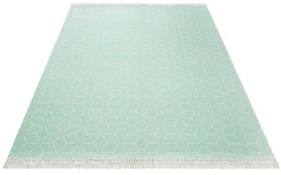 Teppich »Tocara«, Guido Maria Kretschmer Home&Living, rechteckig, Höhe 3 mm, Besonders weich durch Microfaser