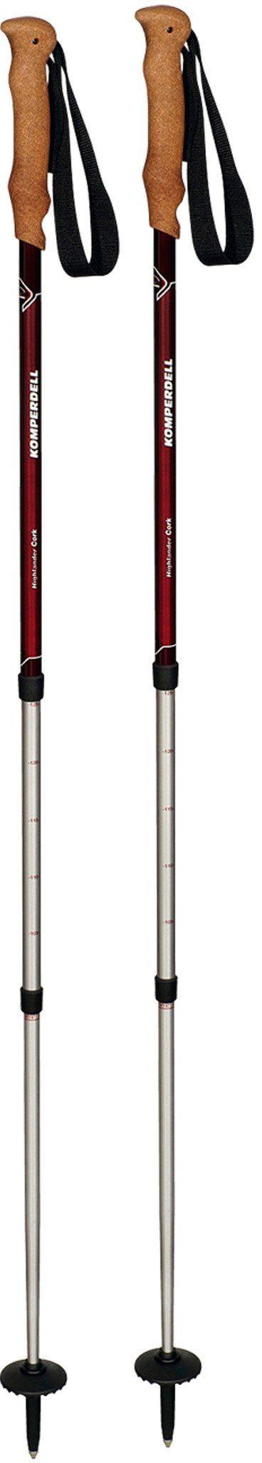 Komperdell Wanderstock »Highlander Cork Poles«