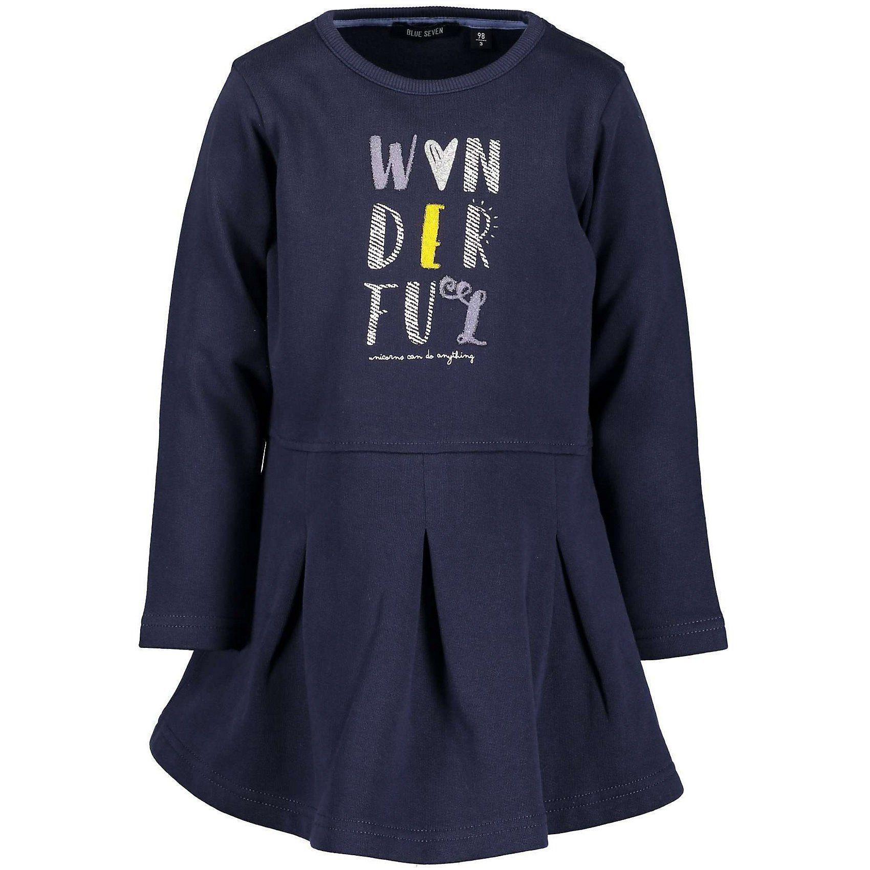 Blue Seven Kinder Sweatkleid