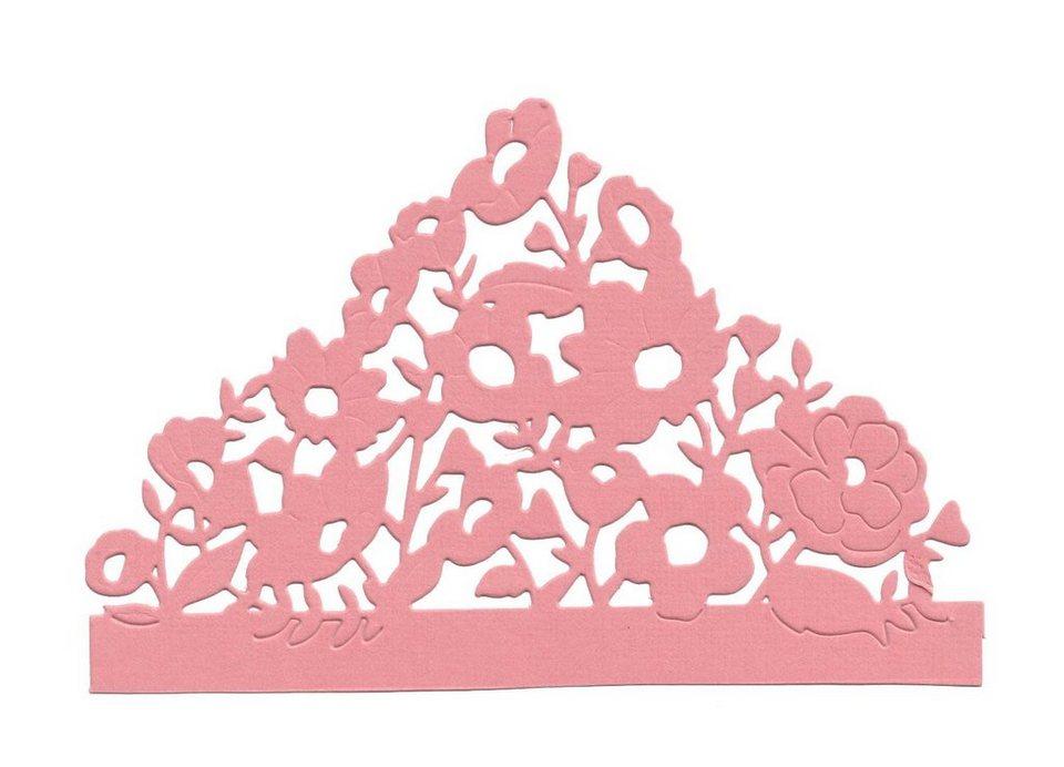 """Sizzix Thinlits Stanzschablone """"Floral Card Edge"""" 1 Motiv online kaufen"""