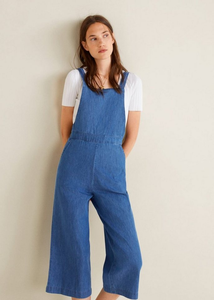 c6c322453d742e MANGO Jeans-Overall mit mittlerer Waschung kaufen