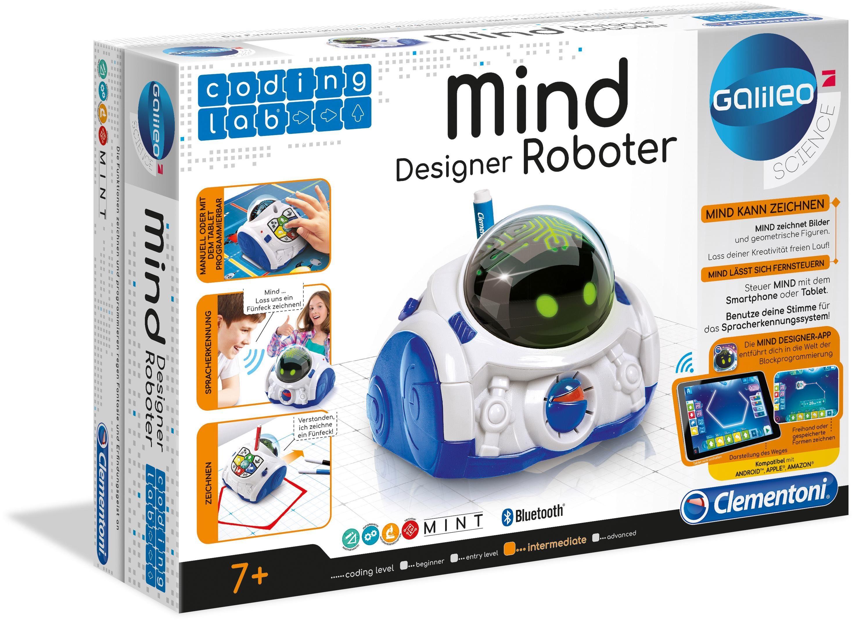 Clementoni Elektronisches Spielzeug , »Galileo - Mind Designer Roboter«