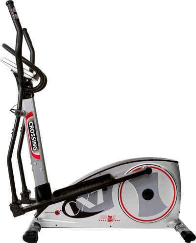 Christopeit Sport® Crosstrainer-Ergometer »CX 7«, Backlit LCD Display mit Tablet- bzw. Smartphonehalterung
