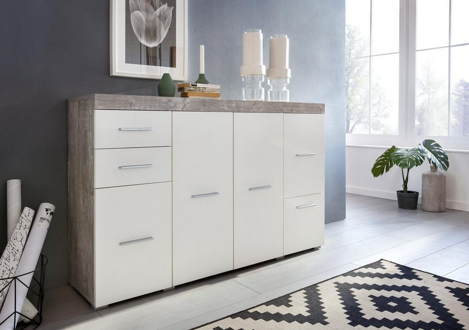 sideboard flint breite 140 cm online kaufen otto. Black Bedroom Furniture Sets. Home Design Ideas