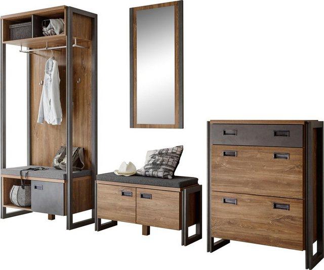Garderoben Sets - Home affaire Garderoben Set »Detroit«, (Set, 4 tlg)  - Onlineshop OTTO