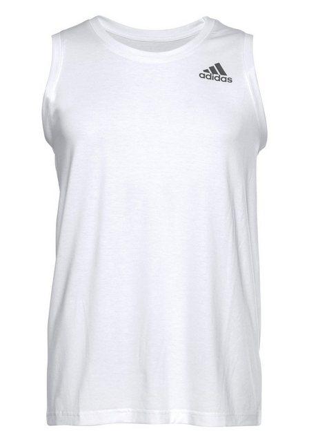 adidas Performance Tanktop »PRIME TANK« | Bekleidung > Shirts > Tank Tops | Weiß | adidas Performance