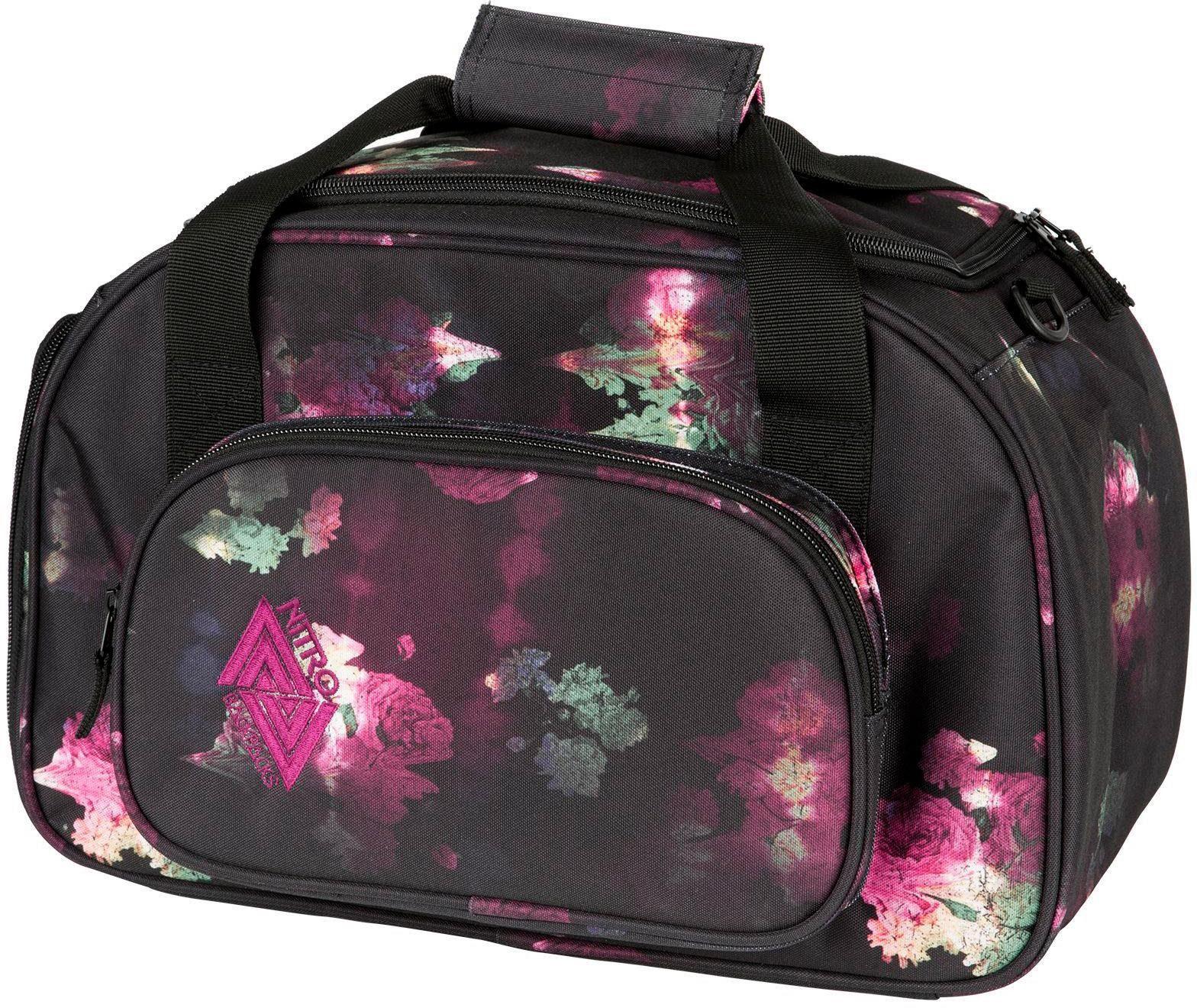 Nitro Reisetasche, »Duffle Bag XS Black Rose«