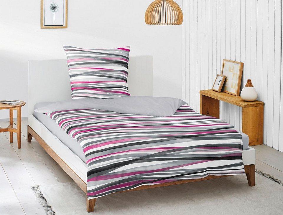 bettw sche luna 8044 irisette mit aufregenden streifen online kaufen otto. Black Bedroom Furniture Sets. Home Design Ideas