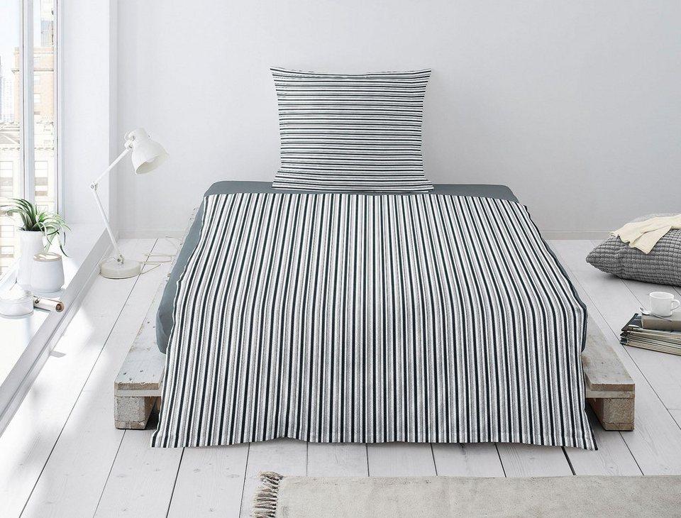 Bettwasche Capri 8047 Irisette Im Schonen Streifendesign Online Kaufen Otto