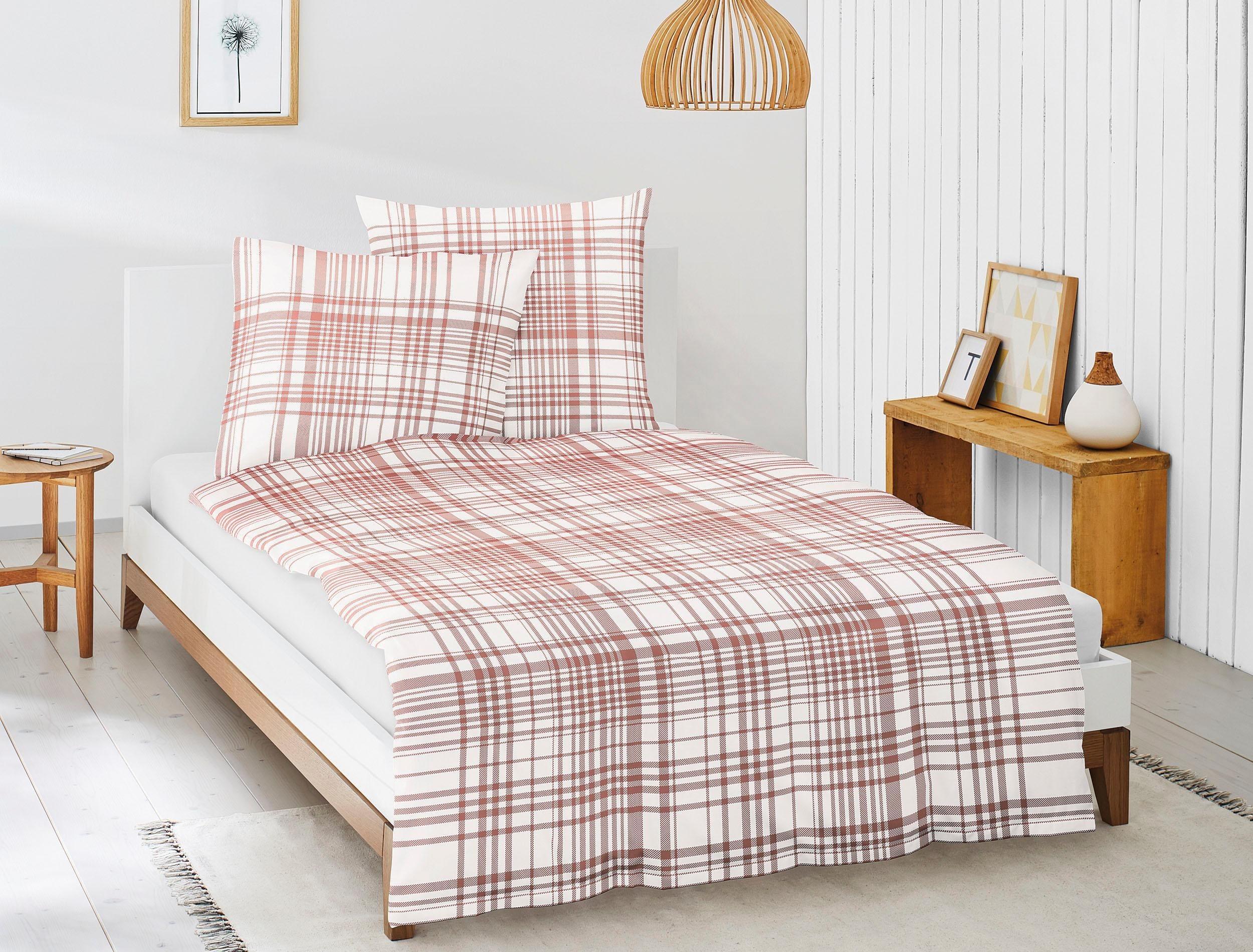 bettw sche baumwolle rot wei preisvergleich die besten angebote online kaufen. Black Bedroom Furniture Sets. Home Design Ideas