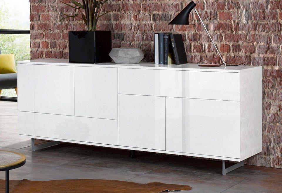 lowboard palermo breite 180 cm online kaufen otto. Black Bedroom Furniture Sets. Home Design Ideas