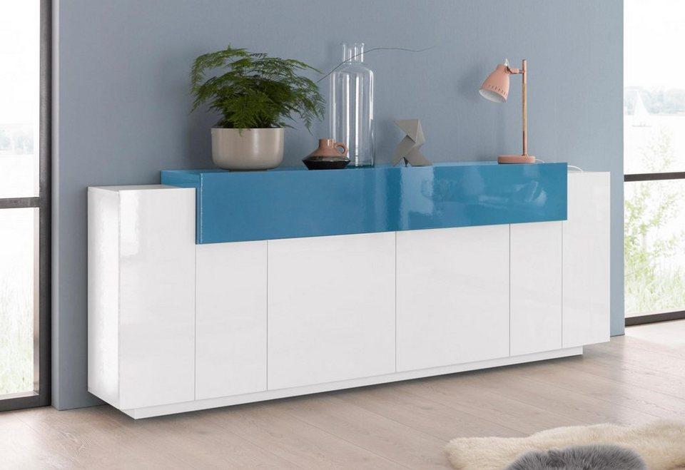 Tecnos Sideboard Asia2 Breite 200 Cm Kaufen Otto