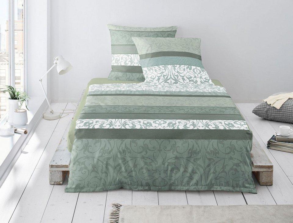 Bettwäsche Capri 8059 Irisette Mit Schönen Streifen Und