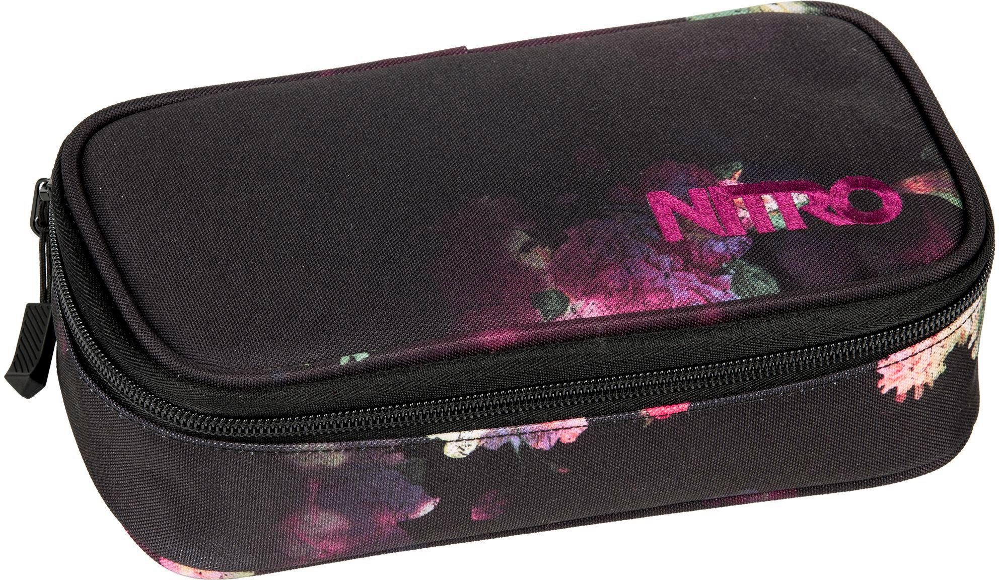 Nitro Federmäppchen, »Pencil Case XL Black Rose«