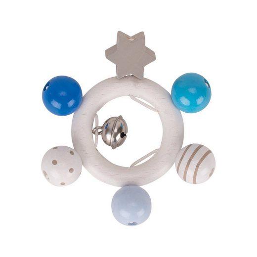 HEIMESS Greifling blau, grau, weiß