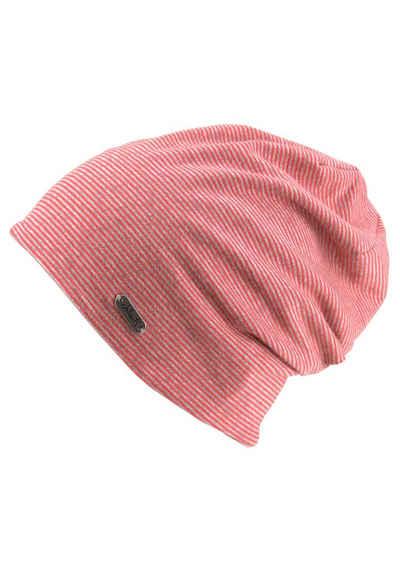 89dbcb370e7725 chillouts Beanie (1-St) Pittsburgh Hat, Oversize, Jersey Mütze, gestreift