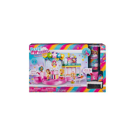 Spin Master Poptastic Party PopTeenies Playset