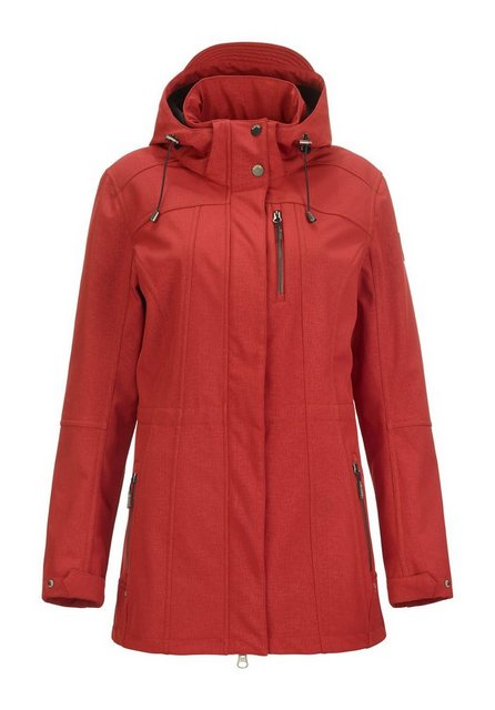 Damen G.I.G.A. DX by killtec Softshelljacke Pakosata rot | 04056542976163