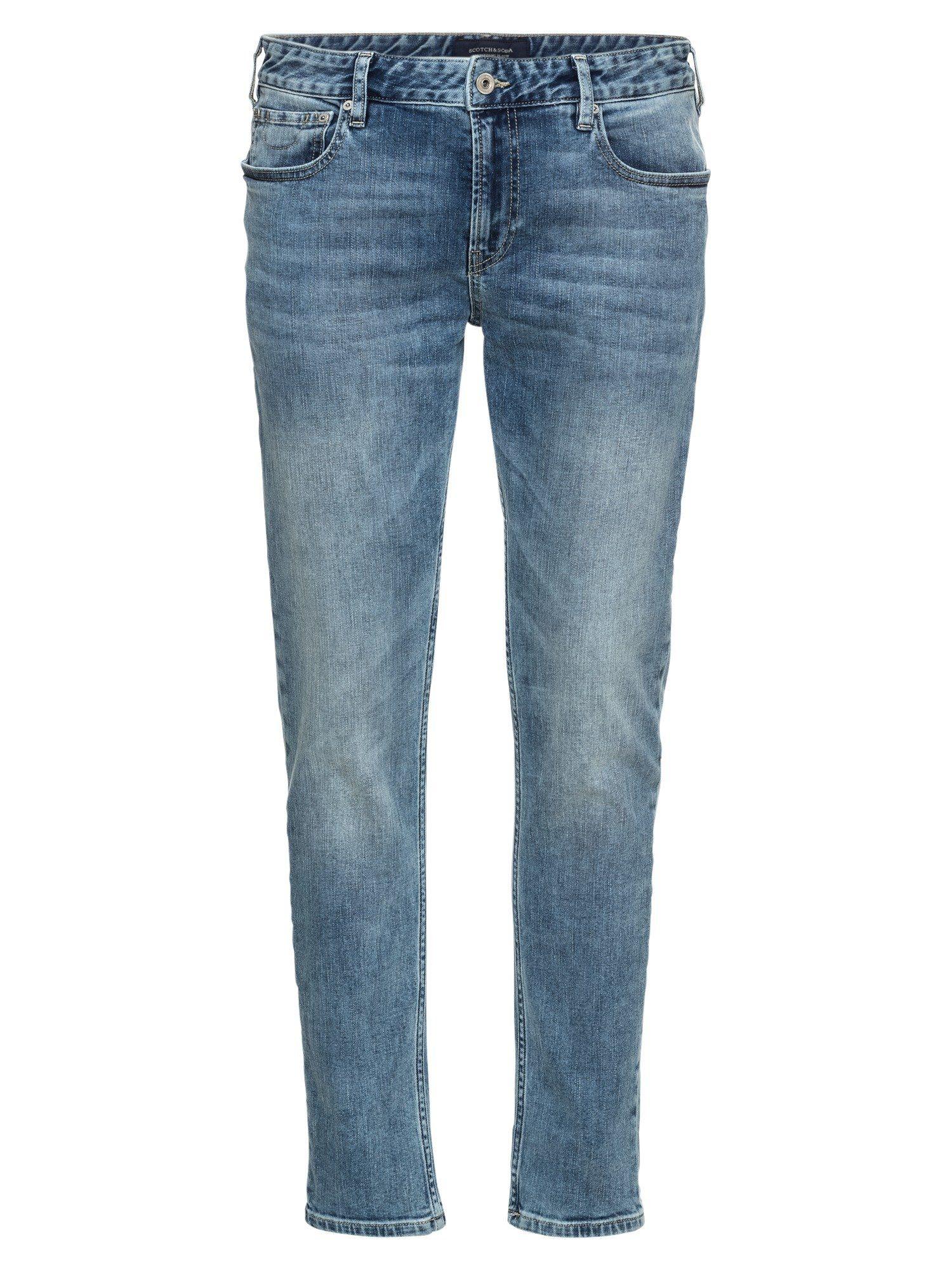 Scotch & Soda Skinny-fit-Jeans »Skim - Blauw Wonder«