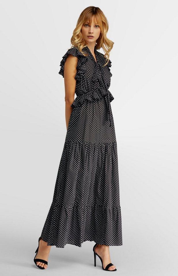 Apart Kleid, Taillennaht mit Volants vorne online kaufen ...