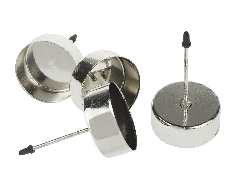 Teelichtstecker ´´Classic´´ 4 Stück | Dekoration > Kerzen und Kerzenständer > Teelichter | Metall