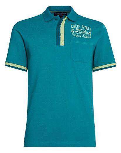 Ahorn Mit Ahorn Sportswear Poloshirt Kontrastpaspel Sportswear zIfxzrZP