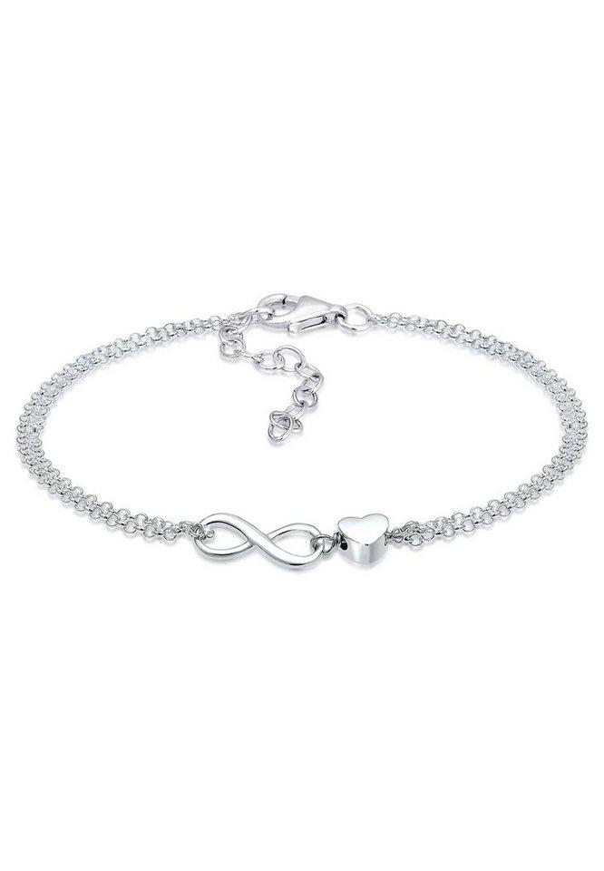 Elli Armband »Herz Liebe Unendlichkeit Infinity 925 Silber« online ... 9cc22b3db9