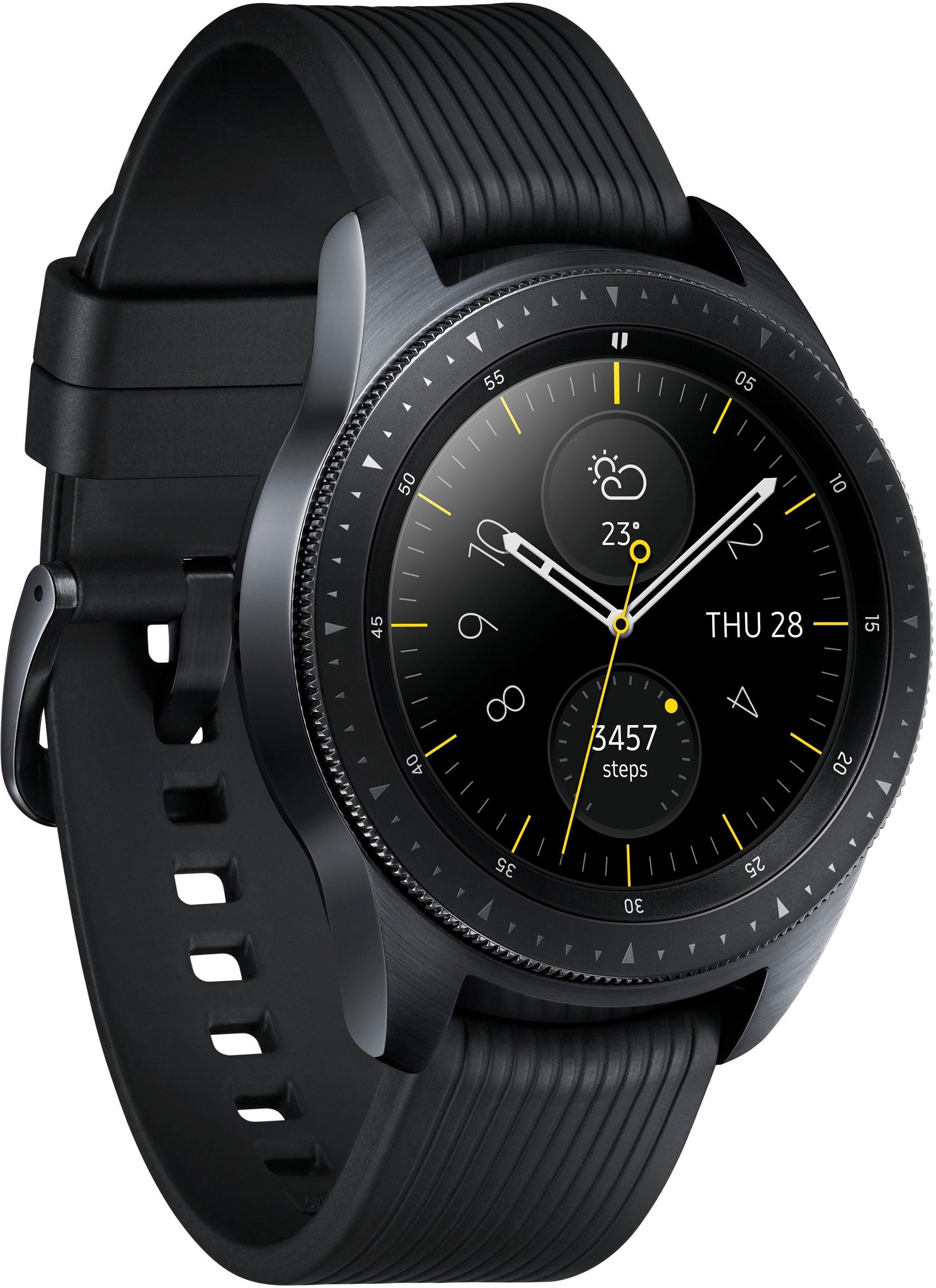 Galaxy Watch - LTE - 42mm Smartwatch (3,05 cm/1,2 Zoll, Tizen OS)