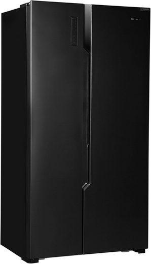 Hisense Side-by-Side RS670N4BF3, 178,6 cm hoch, 91 cm breit