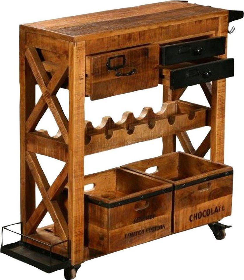 The Wood Times Kuchenwagen Bronx Breite 80 Cm Otto