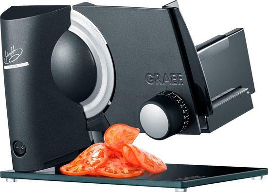 """Graef Allesschneider Sliced Kitchen Premium Cut """"Lafer Edition"""", anthrazit, 200 W"""