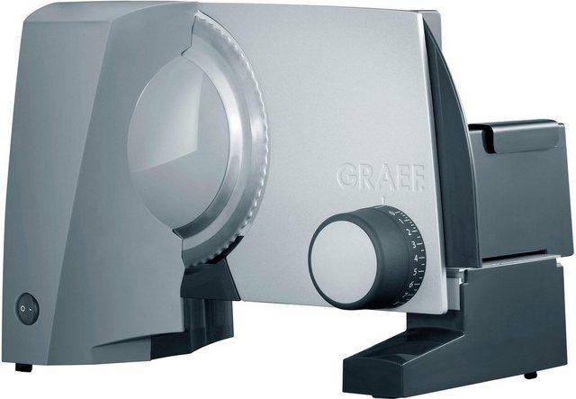 Graef Allesschneider G52 TWIN grau 170 W inkl Schinkenmesser im Wert von 24 99 UVP