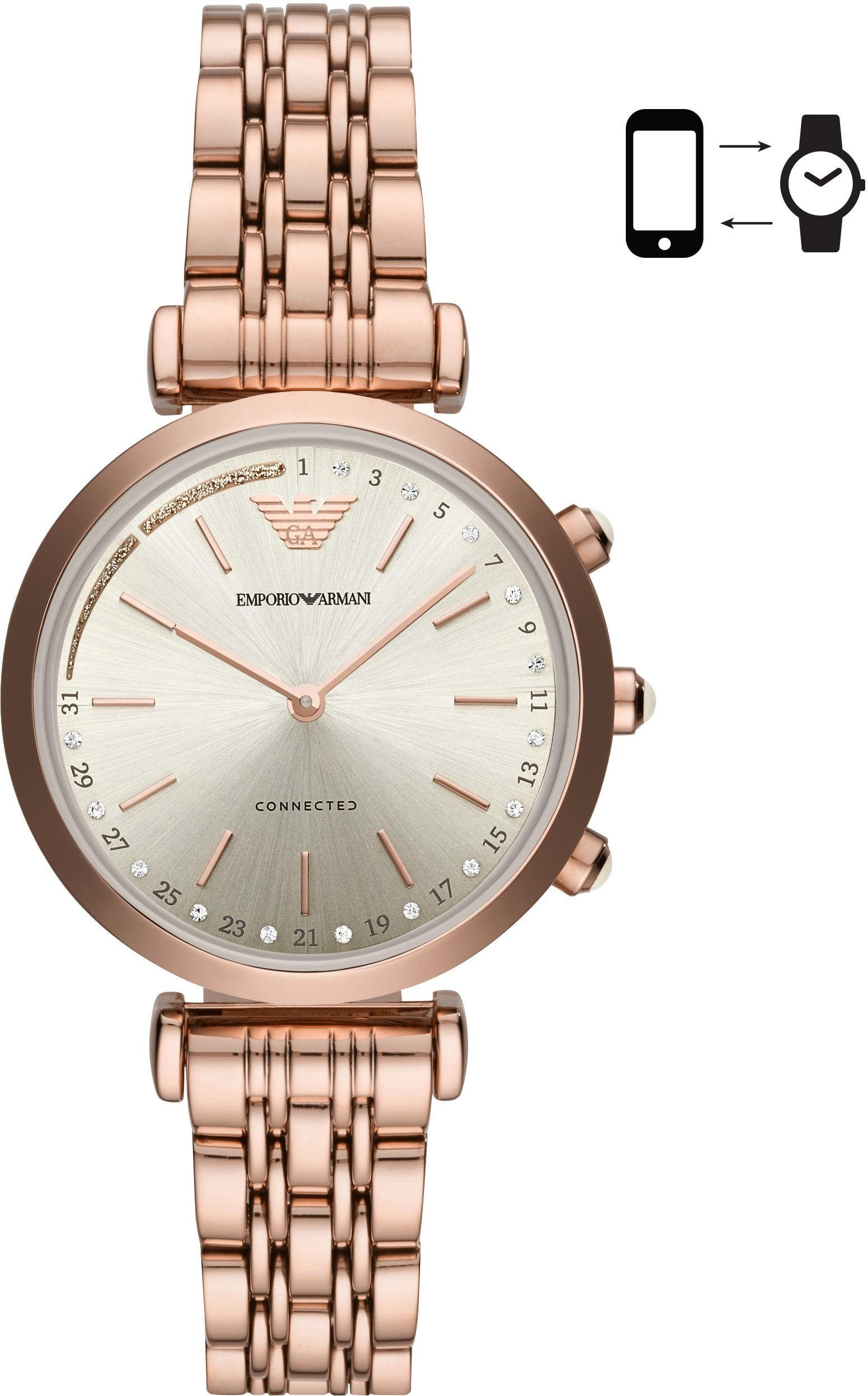 EMPORIO ARMANI CONNECTED ART3026 Smartwatch