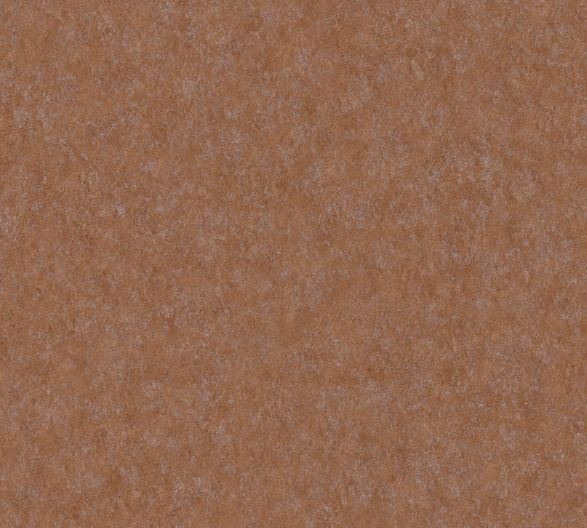 Vliestapete, living walls, »Unitapete Materials«, Rostoptik glänzend