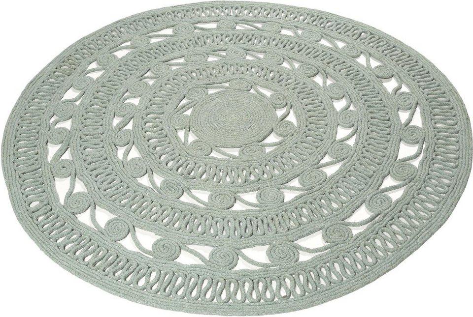 teppich crochet style esprit rund h he 8 mm otto. Black Bedroom Furniture Sets. Home Design Ideas