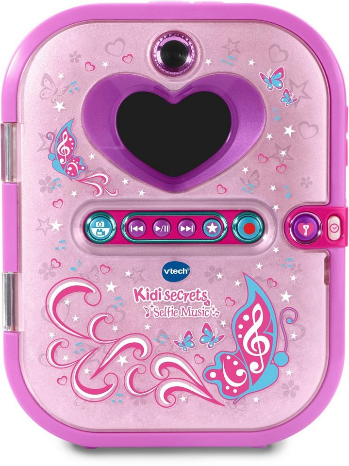 vtech elektronisches tagebuch mit kamera und mp3 player kidisecrets selfie music online. Black Bedroom Furniture Sets. Home Design Ideas