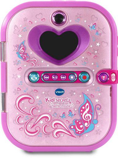 VTech Elektronisches Tagebuch mit Kamera und MP3-Player, »Kidisecrets Selfie Music«