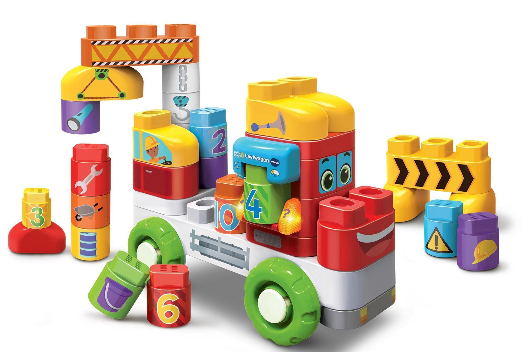 VTech Lernspielzeug sprechende Bausteine, »BlaBlaBlocks Lastwagen«