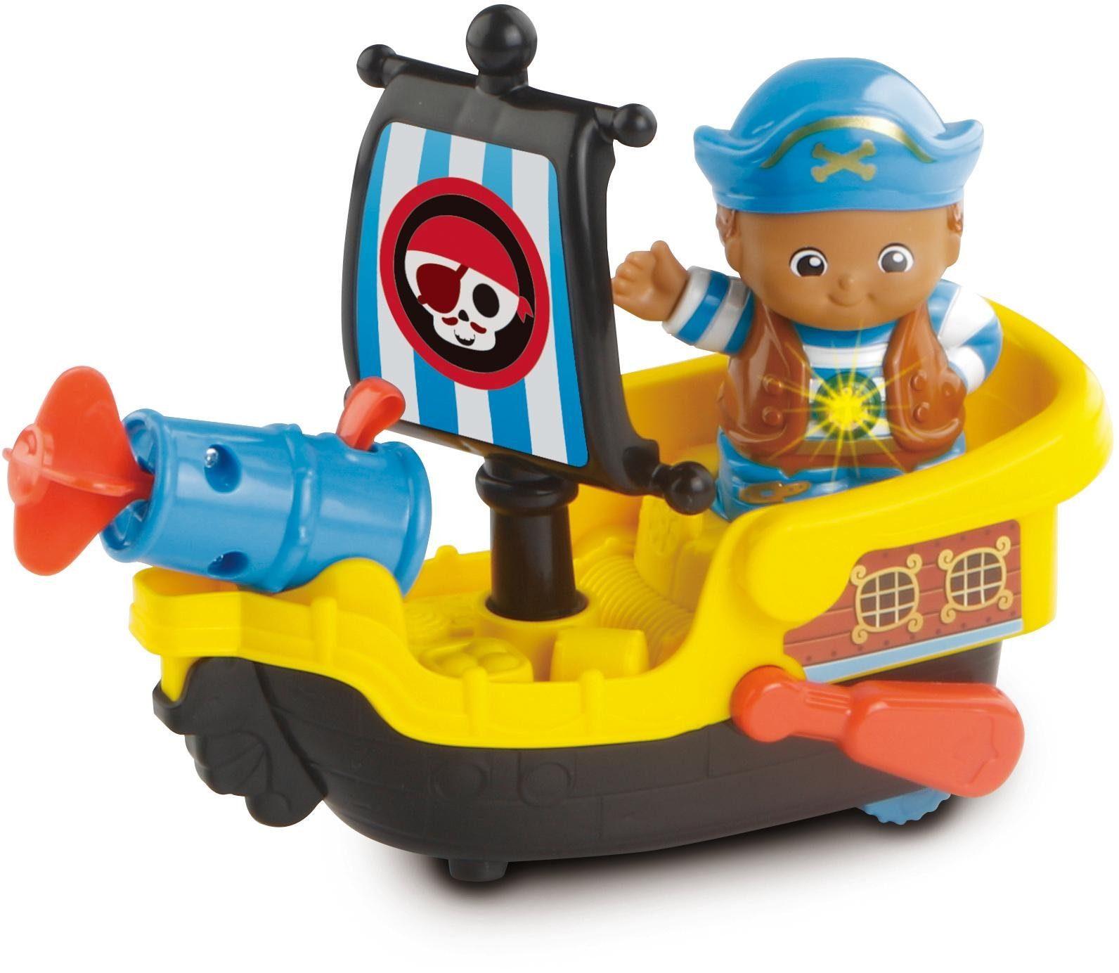 VTech Badespielzeug, »Kleine Entdeckerbande, Pirat Nico mit Boot«