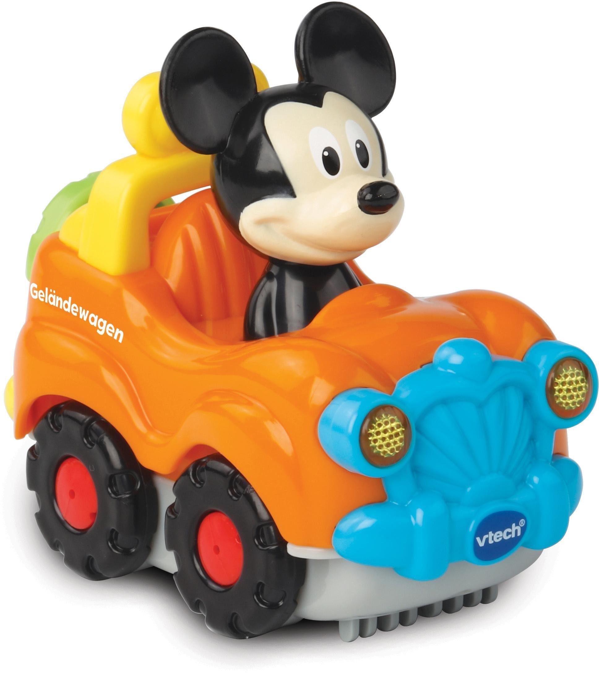 VTech Spielfahrzeug mit Licht und Sound, »TutTut Baby Flitzer Mickys Geländewagen«